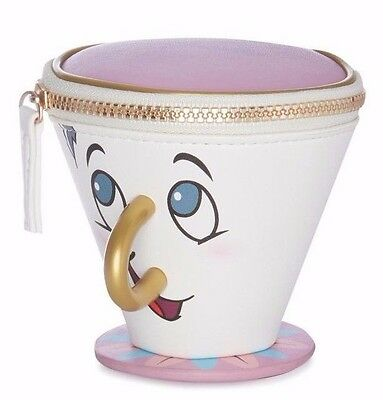 Disney's Beauty & The Beast Chip Mug Coin Purse BNWT