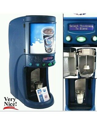 F'Real Milkshake Machine Milk Shake Smoothie Blender FRLB2-S Frozen Beverage