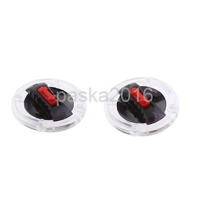 2x Motorcycle Helmet Visor Mounting Fix Base & Rotate Switch for LS2 Helmet