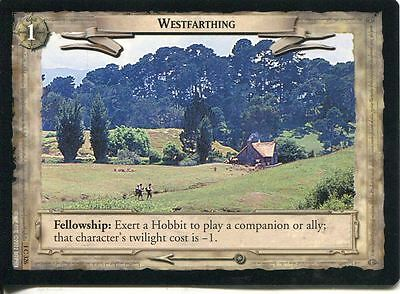 Lord Of The Rings CCG FotR Card 1.C326 Westfarthing