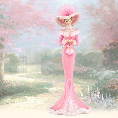 Wish of Pink Lady Figurine Thomas Kinkade Inspirations of Hope BCA