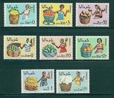 Somalia Scott #323-330 MNH Women Agricultural Products CV$4+