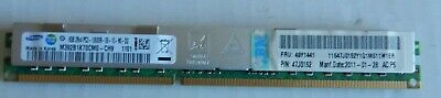 32gb (4 x 8GB ) 2RX4 PC3-10600R IBM 49Y1441  P/N 47J0152 Low Prof samsung brand