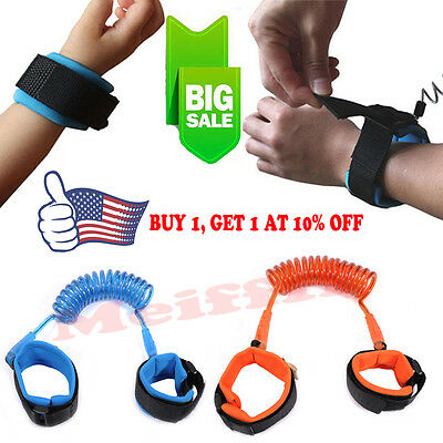Child Strap Wrist Leash Walking Kid Anti-Lost Band Baby Shopping Safety Belt