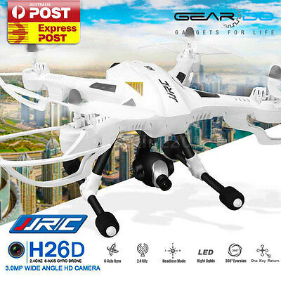 JJRC H26D RC  Quadcopter Drone 2.4GHz 4CH Wide Angle HD Camera 2-Axis Gimbal