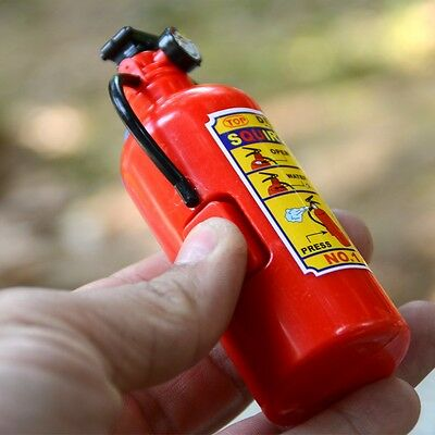 Children Red Plastic Fire Extinguisher Shaped Squirt Water Gun Toy Summer Gifts