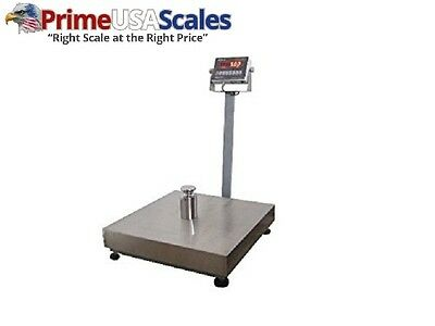 "Optima Scales OP-915-1616 NTEP (Legal for Trade) 16"" x 16"" Bench Scale, 300 lbs"