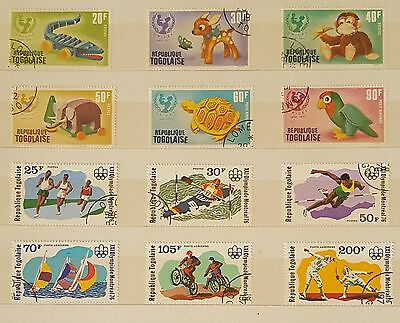 Togo Togolaise stamp collection