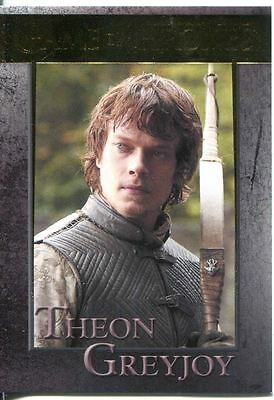 Game Of Thrones Season 3 Gold Parallel Base Card  32 Theon Greyjoy