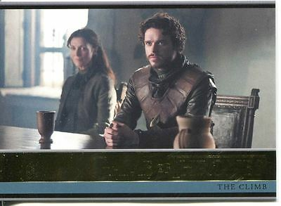 Game Of Thrones Season 3 Gold Parallel Base Card  17 The Climb