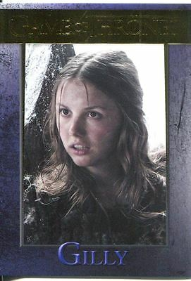 Game Of Thrones Season 3 Gold Parallel Base Card  79 Gilly