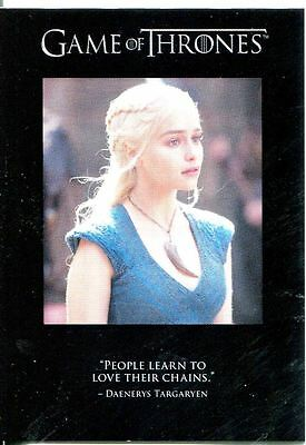Game Of Thrones Season 3 Quotable Chase Card Q28