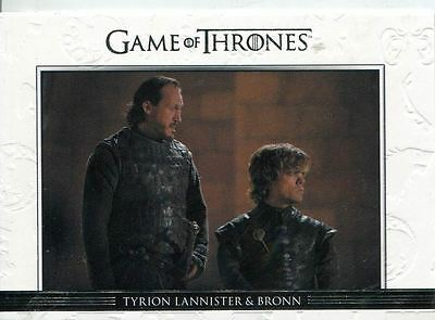 Game Of Thrones Season 3 Relationships Chase Card  DL12 Tyrion Lannister and