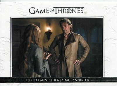 Game Of Thrones Season 3 Relationships Chase Card  DL02 Cersei Lannister and