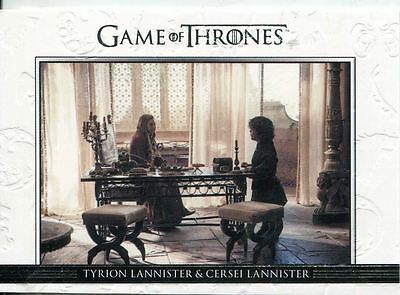Game Of Thrones Season 3 Relationships Chase Card  DL01 Tyrion Lannister and