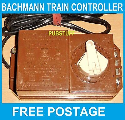 Bachmann 6607A Model Train Set Controller ~ Power Supply Transformer ~ Free Post
