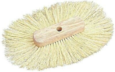 Oval Single Texture Tampico Fiber Brush for Walls Ceilings 9in. x 13in. Drywall