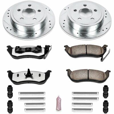 Powerstop Brake Disc and Pad Kits 2-Wheel Set Rear New Jeep K2197-36