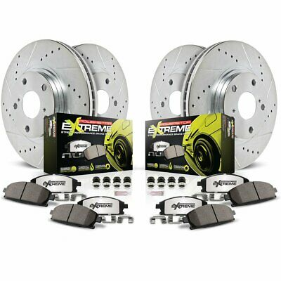 Powerstop 4-wheel set Brake Disc and Pad Kits Front & Rear New K800-26