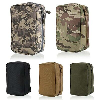 Outdoors Airsoft Molle Army Tactical Medical First Aid Pouch Nylon Waist Bag HOT