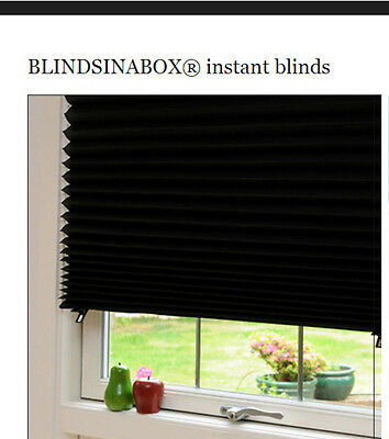 3 x Blinds in a Box Temporary Blinds - BLACKOUT - as funded on Dragons' Den