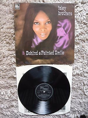 The Isley Brothers Behind A Painted Smile 1st Press UK 1969 Tamla Mono Vinyl LP