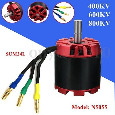 N5055 400/600/800KV High Efficiency Brushless Motor Multicopter For Skateboard