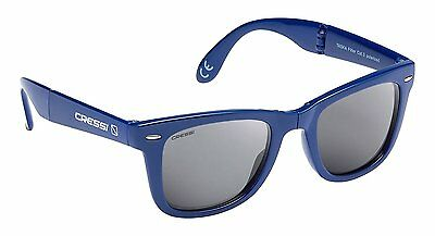 Cressi Taska Sports Sunglasses  Blue/Mirrored Lens Grey