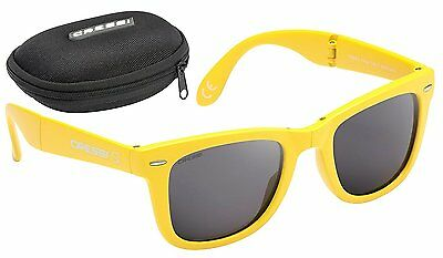 Cressi Taska Sports Sunglasses Yellow/Mirrored Lens Grey