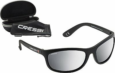 Cressi Rocker Black/Mirrored Lens Silver