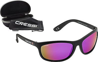 Cressi Rocker  Black/Mirrored Lens Purple