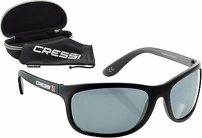 Cressi Rocker Black/Mirrored Lens Yellow