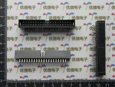 10 pcs Curve DC3-40P 2.54mm Pitch Dual Row 20 x 2 ISP JTAG I/O Socket