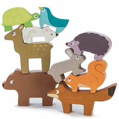 Le Toy Van Forest Stacking Animals | Wooden Animal Stacking Game | Wooden Toys