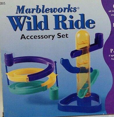 MARBLEWORKS® WILD RIDE Accessory Set by Discovery Toys 3815 Marble Track