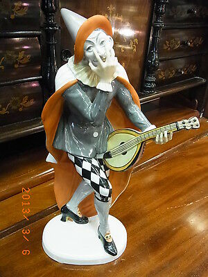 Rosenthal Harlequin 34cm Porcelain figurine First Quality 1a Rarity