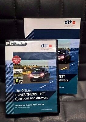 Official Driver Theory Test questions and answers 6th edition 2013 CD and Book