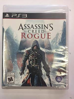 Brand New Sealed Assassin's Creed Rogue for Playstation 3 PS3 ***NEW SEALED***