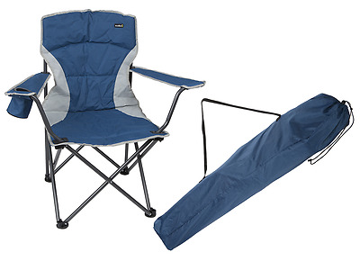 Summit Malvern Padded Chair - Blue