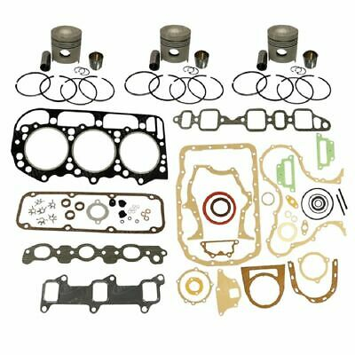 1109-D201 Ford New Holland Parts Engine Base Kit 201 ENG; 4000; 4600; 4610; 4630