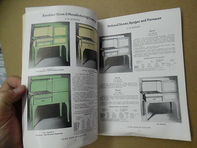 1928 Excelsior Stove & Manufacturing Co Catalog Stoves Ranges Furnaces Quincy IL