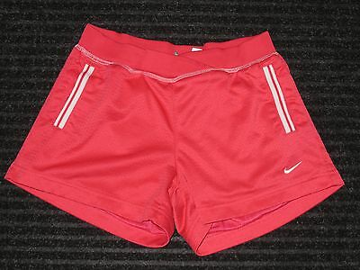 Nike Shorts Girls Youth Large 14 Pink Athletic Running Training Fitness Workout