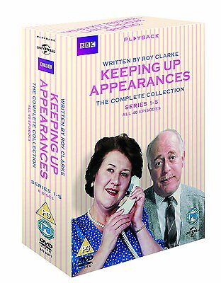 Keeping Up Appearances The Complete Collection Series 1-5 New sealed DVD Box Set