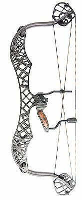 "2017 Gearhead Archery- M30 ( Mongo)  Carbon Fiber Compound Bow, 30"" 60#"