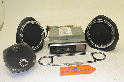 04 Harley-Davidson Electra Glide Ultra Classic Radio Stereo Control Unit Speaker