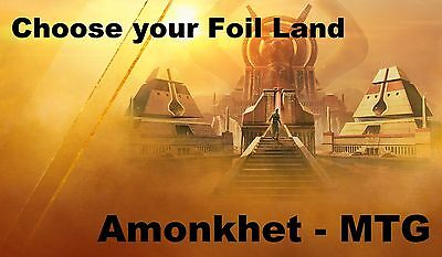 Choose your Amonkhet Foil Land NM MTG Magic the Gathering