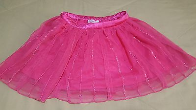 Girls, JUSTICE, Pink Lace Layered Skort/Skirt Size 10