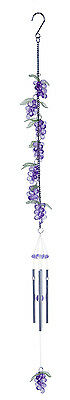 Purple Grapes Chimes  Acrylic 25 inches  - RAI 79324