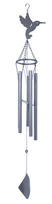 Bird  Chimes Grey Tubes Aluminum 40 inches  - RAI 79332