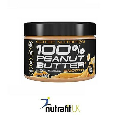 Scitec Nutrition 100% Peanut Butter 500G Smooth Gmo Free